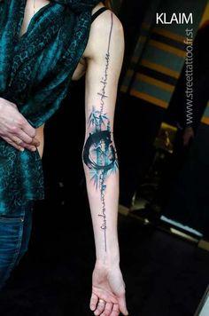 22 Incredible Watercolour Tattoos by Klaim - Smashcave