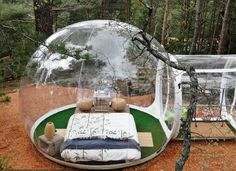 Tired of camping under the night sky in a tent? Perhaps, you need to spend some time in this Bubble Hotel for a brand-new camping experience. Tent Camping, Outdoor Camping, Camping Trailers, Camping Room, Camping Storage, Camping Cabins, Backpacking Tent, Campsite, Hotel France