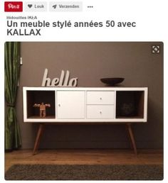 The IKEA Kallax line Storage furniture is an essential section of any home. They supply get and allow you to hold track. Fashionable and wonderfully simple the shelf Kallax from Ikea , for example. Decor, Ikea Diy, Diy Furniture, Home Furniture, Ikea Hack, Kallax Ikea, Home Decor, Retro Furniture, Ikea Furniture
