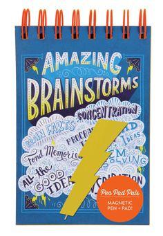 Amazing Brainstorms: Magnetic Pen + Pad