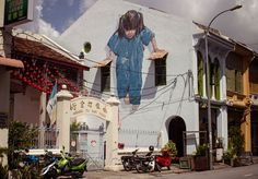 Fascinating Street Art by Ernest Zacharevic | Yatzer