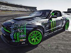 Vaughn Gittin's New Mustang RTR