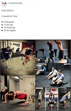 #CrossFitGrenoble #CrossFit #Wod