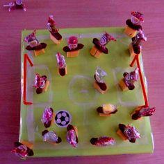Trakteren op school- voetbalhapjes