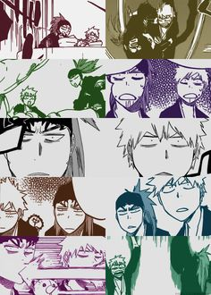 Bleach// Ichigo and Renji funny//They need to be brothers!!