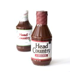 Head Country may have a new look, but it's still the same great taste in every bottle ... This is Head Country. #headcountrybbq #bbq #grilling #cooking