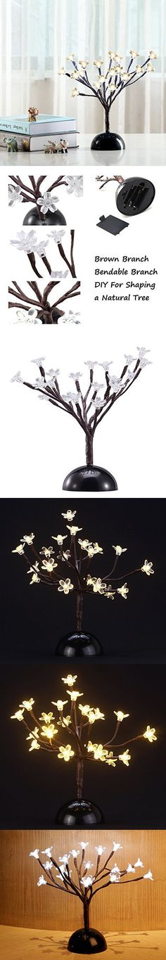 Garden Mile New 6ft (1.8m) Pre-lit With 240 White Led Lights ... Bonsai Baum Dekoidee Indoor Garten