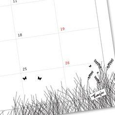Heinäkuun ilmainen tulostettava seinäkalenteri. Free calendar template (July 2015).  http://virtasia.blogspot.fi/2015/06/heinakuun-seinakalenteri.html