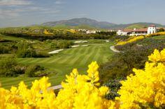 4th hole and Mt. Diablo. The Bridges Golf Club, San Ramon.
