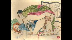 Japan Erotic Art Artist Paintings /historical video