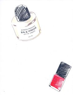 Fashion Illustration - by Aimee Levy - monstylepin #fashion #illustration #nailpolish
