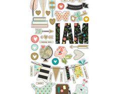 Heidi Swapp Large Gold White Striped Memory Planner von Plannerific