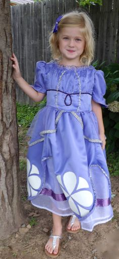 Sofia the First Princess PDF Costume Dress Pattern in by joy2sew, $5.00
