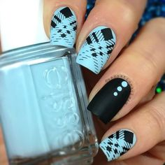 I just finished the video of my nails using the Clear Jelly Stamper   I used @whatsupnails Clear Jelly stamper  @moyou_london  The Hipster Collection 06  Black Konad stamping polish  @nailcadiofficial Cuticles Protector  @Essiepolish Mint Candy Apple  @opi_products Black onyx  Matte top coat  @glistenandglow1 Hk Girl top ✨coat (before of Matte top coat)  SongScary Monsters And Nice Sprites By Skrillex