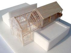 #JulieDaubioul Maquette Architecture, Architecture Model Making, Timber Architecture, Architecture Concept Drawings, Model Building, Architecture Design, Arch Model, Farmhouse Christmas Decor, Urban Design
