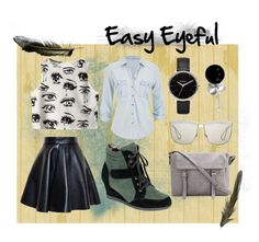 """Easy Eyeful"" by maria-addison on Polyvore"