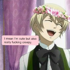 Alois Trancy is me Black Butler Characters, Anime Characters, Me Me Me Anime, Anime Guys, Magna Anime, Black Butler Funny, Alois Trancy, Tartarus, Sebaciel