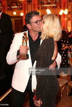 Hans Sigl and his wife Susanne Sigl with award during the ROMY award at Hofburg Vienna on April 2017 in Vienna, Austria. April 22, Vienna Austria, Fulton, Awards, Movie, Alps, Thunder Clouds, Love And Lust, Actors