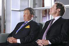 William Shatner and James Spader