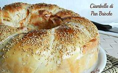 Ciambella di Pan Brioche salata e farcita,ricetta