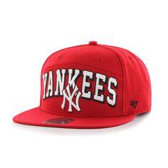 New York Yankees Devoe Captain Sf Red 47 Brand Adjustable Hat