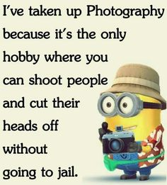 Photography... #minion