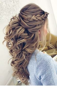 Sweet 100+ Hairstyles For Special Occasions #hair #hairandhairstyles #hairstyle #Hairstyle