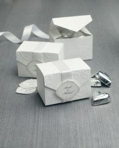 Wedding Gift Boxes Michaels : about wedding favors on Pinterest Wedding favor boxes, Candy boxes ...