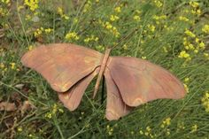 Butterfly Staked - Flamed Copper, Great Garden Display by Ancient Graffiti. $32.44. Butterfly Staked Flamed Copper