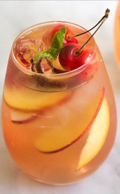 from the little epicurean stone fruit sangria with stone fruit season ...