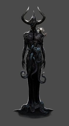 Demon – horror concept by Hookwang Lee