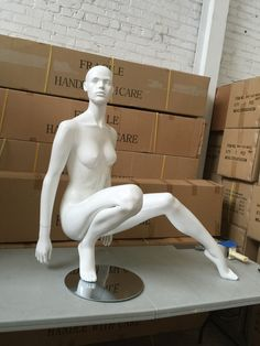 Love this? Buy it at Mannequin Madness!  Lana #3: Sexy Seated Female With Realistic Face