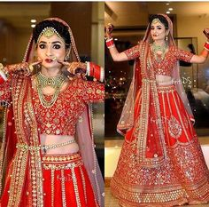 Different Cultures Indian Traditional Bridal Dresses Trends Indian Wedding Gowns, Indian Bridal Outfits, Indian Bridal Lehenga, Indian Bridal Wear, Bridal Dresses, Indian Weddings, Bridal Sarees, Bridal Mehndi, Punjabi Wedding