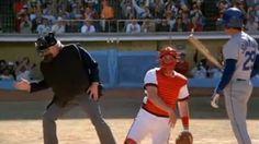 naked gun Leslie Nielsen -umpire -