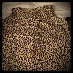 Dress Long leopard sleeveless dress Dresses