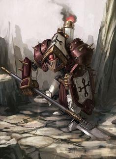 Warmachine: protectorate: light warjack: revenger My favorite model!