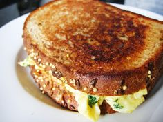 grilled cheese & egg