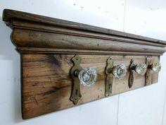 entrée aménagement idée porte-manteau diy meuble bois