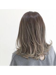 Korean Hair Color, Hair Streaks, Aesthetic Hair, Hair Images, Hair Designs, Hair Goals, Dyed Hair, Hair Inspiration, Curly Hair Styles