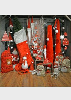 Santa Claus is Coming to Town - Χριστουγεννιάτικος στολισμός με θέμα τον ¶γιο Βασίλη
