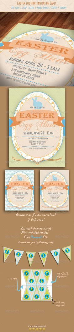 Bakery Soft Opening Invitation Card Template Card templates - easter invitations template