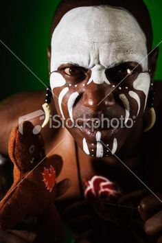 voodoo witch doctor makeup - Google Search