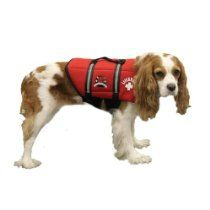 Paws Aboard Neoprene Doggy Life Jacket Small Red 15 - 20 lbs.
