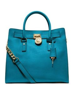 MICHAEL Michael Kors Hamilton Large North South Satchel #belk #handbags |  Our Favorite Hue: Belk Blue | Pinterest | Michael kors hamilton, Satchels  and ...