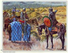 Christa Hook - Arqueros musulmanes a caballo en Tierra Santa, siglos XII-XIII