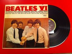 The Beatles - BEATLES VI. I have this. Unfortunately I wrote all over it when I was little.