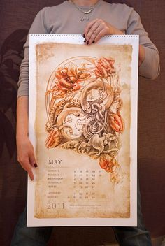 Irina Vinnik ... Calendar 2011 ... May