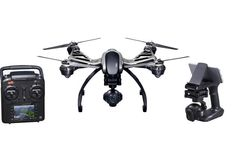 Yuneec Typhoon Q500 4K RTF Bundle Drone with 4K camera, flight controller, and other accessories