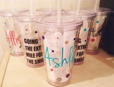"""Going the Extra Mile for the Smile"" - Dental Hygienist Gifts    