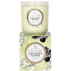 Voluspa 'Maison Jardin - Sake Lemon Flower' Scented Candle